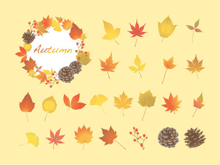Autumn Leaves Set