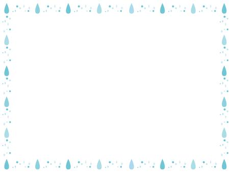 물방울 테두리 2