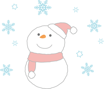 Season Winter (Snowman)