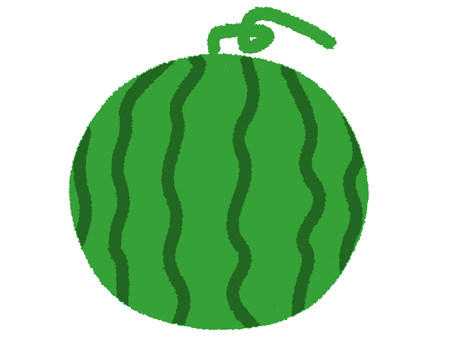 One whole watermelon