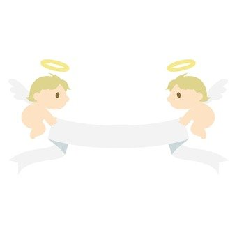 Angels and ribbons