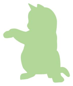 Cat's silhouette 08