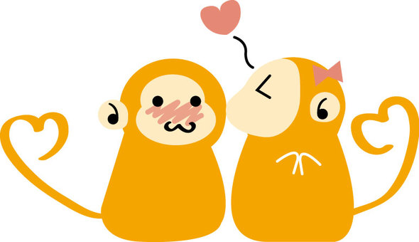 Monkey boyfriend