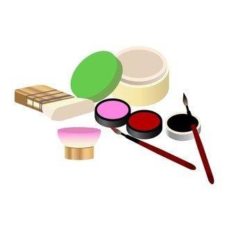 舞妓化妆工具