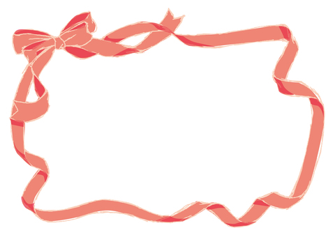Pink ribbon frame 3