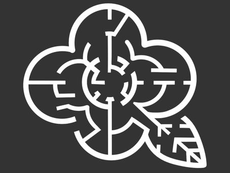 꽃의 미로 (흰색)