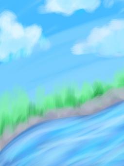 하늘과 강