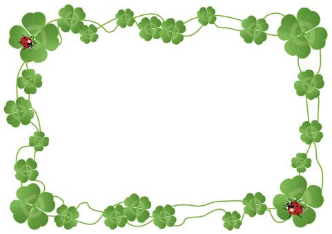 Four leaves frame