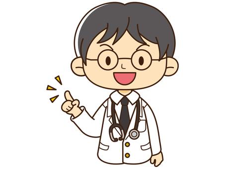 Work _ Doctor Illustration _ 01