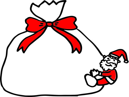 Gifts and Santa