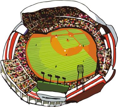 Sports (Mazda Stadium / Hand Drawn)
