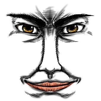 Dandy face parts