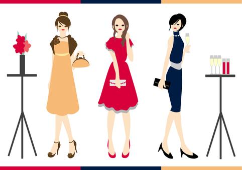 Party dress women