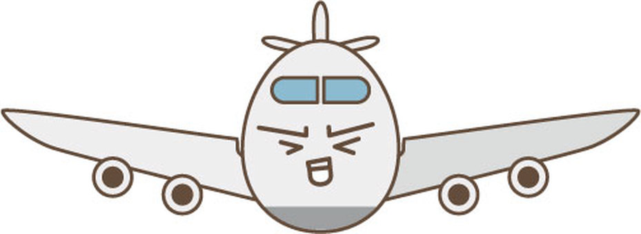 Airplane character 2