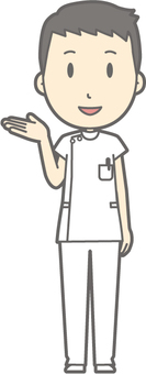 Male nurse - Information - whole body