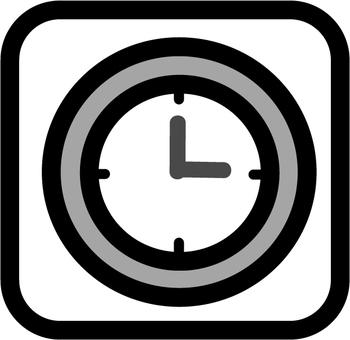 Clock mark