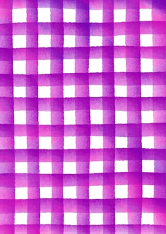 Watercolor painting check pattern texture purple vertical