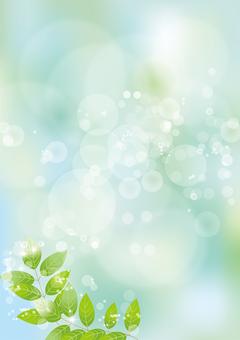Glittering leaves & sky 59