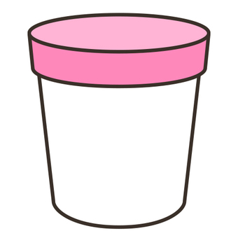 Cup with lid _ D