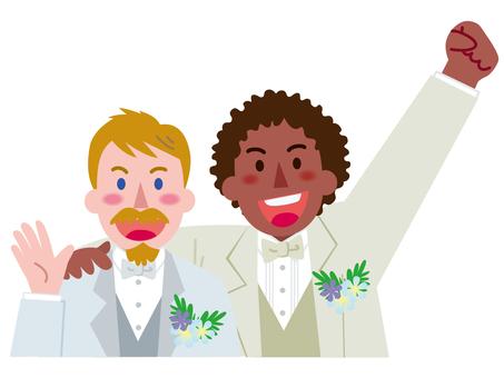 Homosexual marriage between men-4