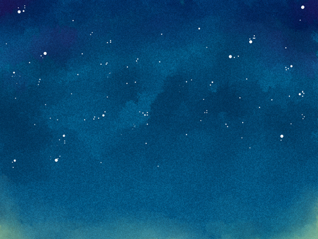 Water color night sky