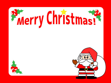 Christmas frame / frame 2
