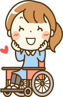 Welcome wheelchair girl