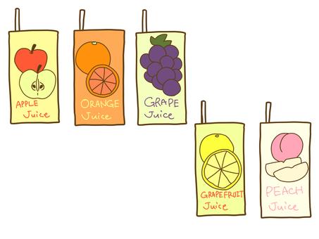 Juice of paper pack