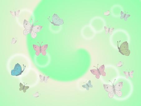 Butterfly dancing