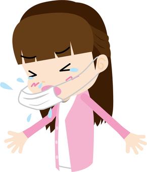 Hay fever / sneezing (women)