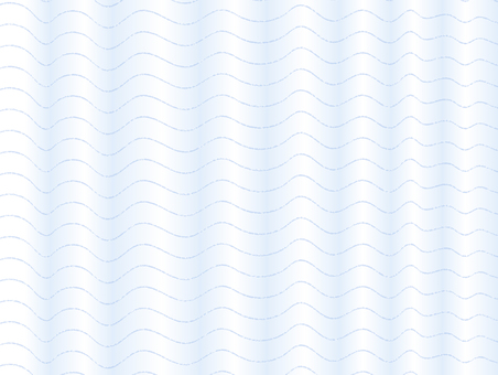 Drape curtain (blue)