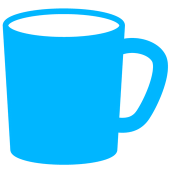 Mug Cup - light blue