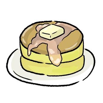 Hot cake ①