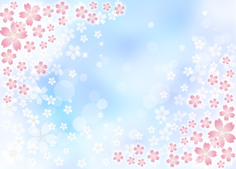 Sakura sky background