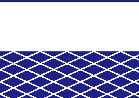 Japanese style wall pattern _ blue