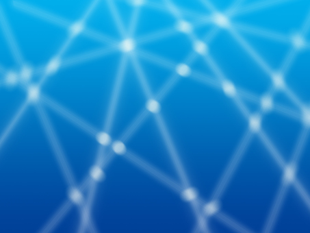 Blue simple background material of advanced image