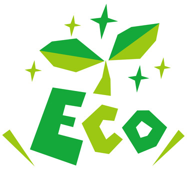 ECO ☆ Eco image ☆ English pop logo