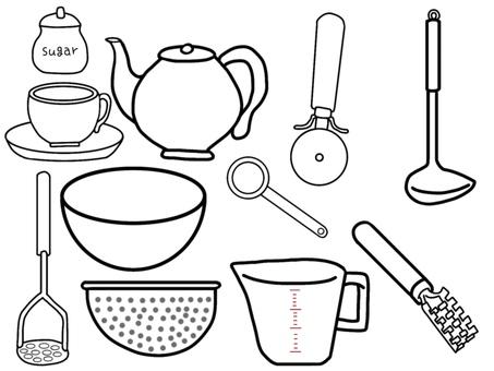 Cookware (monochrome)