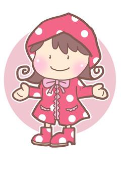 A girl in a kappa