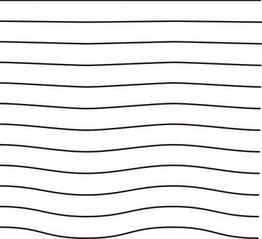 波線  ウェーブ  ライン