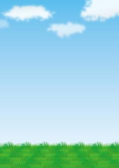 Prairie and sky 2