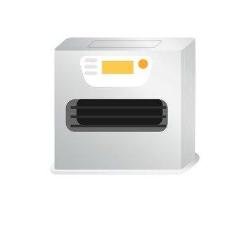 Garbage separation - Oil fan heater