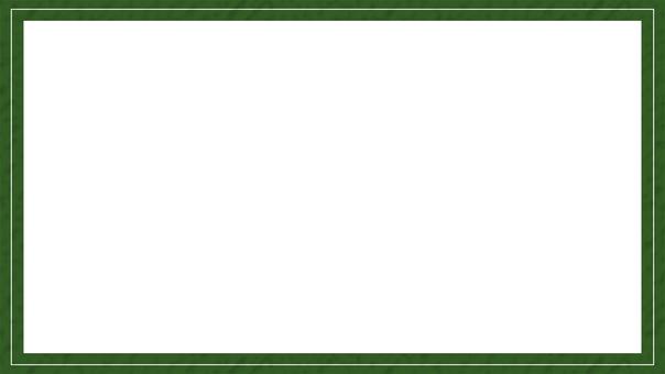 Vintage frame (green)