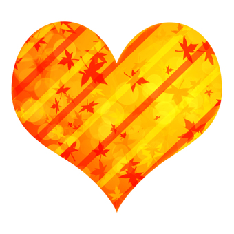 Maple and Stripe Heart 1