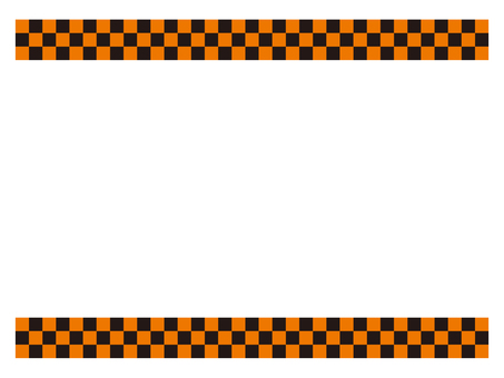 Checkered flag frame
