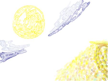 月亮和耳朵