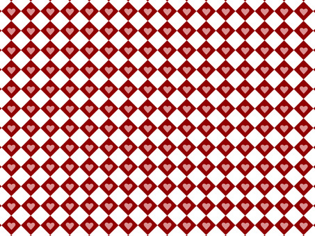 Checkered heart wallpaper