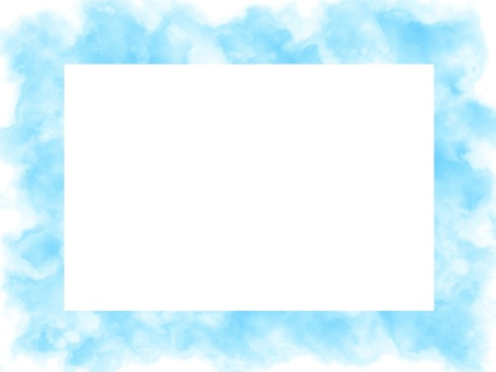 Light blue background watercolor