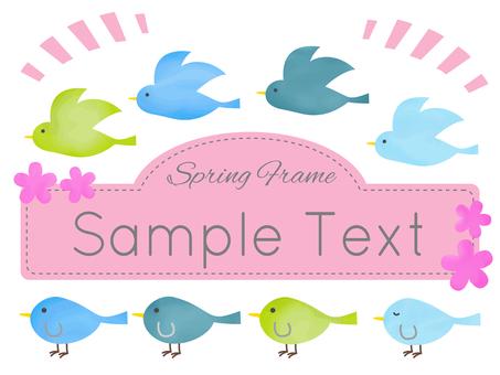Bird Chan's Spring Color frame