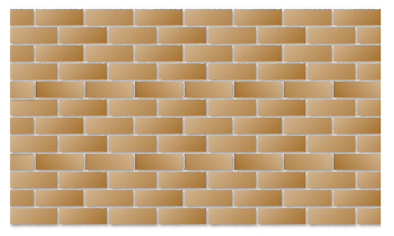 Brick light brown color